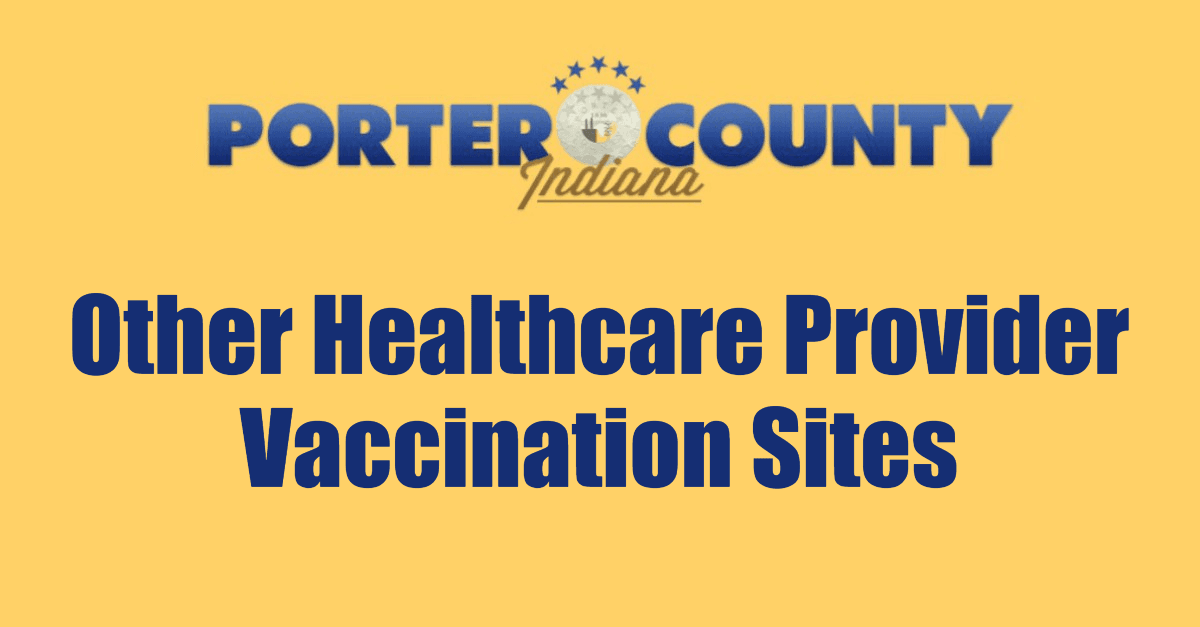 Other Health Care Provider Vaccinaton Sites Page Banner